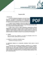 Comisión 3 Programa 2016