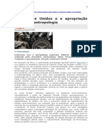 Os Estados Unidos e a Apropriação Militar Da Antropologia
