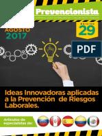 Revista El Prevencionista 29ava Edición