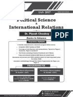 Pol. Science and International Relations