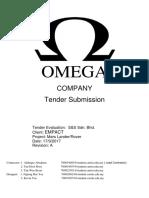 omega tender application