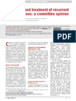 Evaluation and Treatment of Recurrent Pregnancy Loss a Committee Opinion-noprint