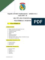 Segunda Actividad Complementaria 2017 II