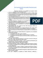 100 Preguntas Preparacion y Presentacion de Estados Financieros Comparativos