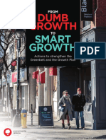 From Dumb Growth to Smarter Growth Report FINAL