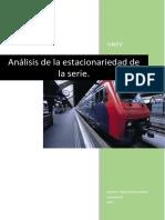 Revisión de Los Procedimientos de Análisis de La Estacionariedad