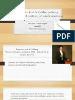 Unidad 3 Francisco José de Caldas - Cindi Miley Cortés R