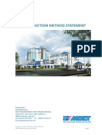 Penang Specialist Hospital_Construction Method Statement