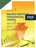 2015 - Bab 1 Makro - Institusi Pendidikan Tinggi