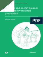 Mass & Energy Balance