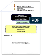 Physical Sciences P1 Nov 2014 Memo Afr & Eng.pdf