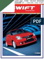 Project Report on Maruti Suzuki Swift