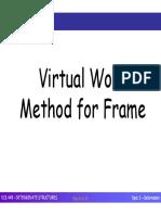 ECS448 - Topic 5 (Deformation - Virtual Work for Frame & Truss)