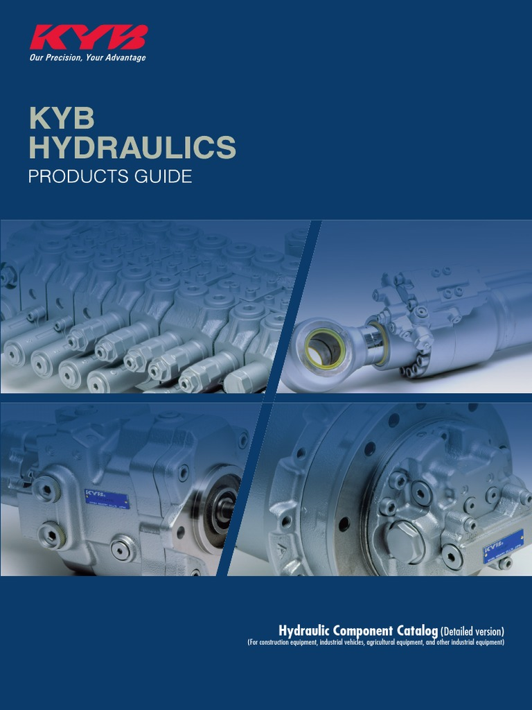 Kyb Hydraulic Parts Catalog | Pump | Mechanical Engineering