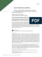 Future Treatment for Asthma