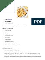 Pommes Gratin Recipe