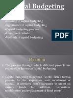 Capital Budgeting 24-06-2017