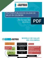 Politica Publica de Calidad en Colombia