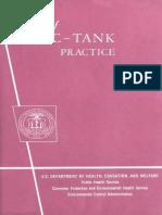 Sepitic Tank Practice.(Robert a. Taft Sanitary Procedures- Percolatioin Test)