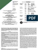 notice sheet 17th september 2017