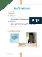 Medidor Parshall(Vb)