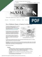 Hack & Slash_ On a Children's Quest, A Starter 5e Adventure_.pdf