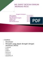 Penyakit Yang Dapat Dicegah Dengan Imunisasi (Pd3i