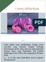 Asma Akibat Kerja (Aak)