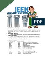 Lesson3 GREEK Architecture