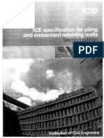 Water Retention of DWall Pages From ICE SPERW_Spec for Piling and Embedded Retaining Walls