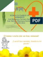 Sanatatea Bunul Cel Mai de Pret Mateescu