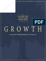 Saatchi Synagogue Calendar