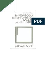 La pedagogia dell'einfuhlungsaggio su Edith Stein.pdf