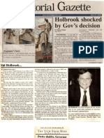 Sid Holbrook fired from Gov. Rowland's staff as scapegoat in Enron scandal