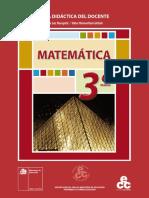 Matemática 3º Medio-Guía Docente