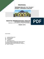 Propasal Pembangunan Masjid