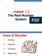 Chapter 1.2 Real Number System