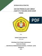 Laporan Kerja Praktek PLTU Tanjung Awar-Awar