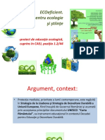 ECoeficient - prezentare proiect