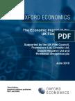 Economic Impact of the Uk Film Industry 2010 06