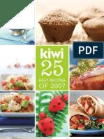 KIWI Best Recipes 2007