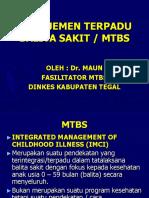 Manajemen Terpadu Balita Sakit