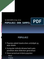 4-Populasi Dan Sampel