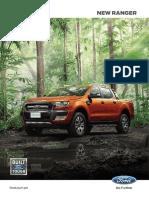 Ford Ranger Brochure2017
