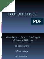 ChemistryPresentation(Food Additives) 2003