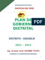 Plan de Gobierno