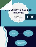 Uji Antibiotik Antimicrobial