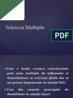 Curs Scleroza Multipla AMG 2017