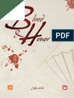 RPG Blood & Honor - 1°Ed BR