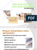 PPT Prepare & Produce Cakes & Pastries FN 060214